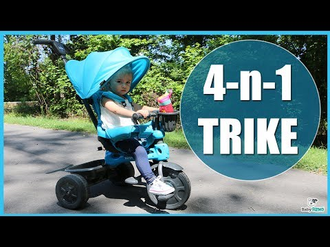 JOOVY Tricycoo 4.1 REVIEW 4-in-1 Tricycle for Toddlers and Preschoolers