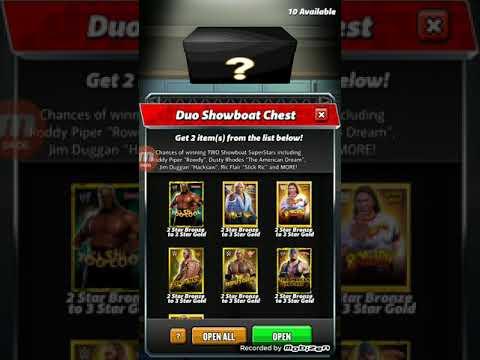 WWE Champions - 10x Duo Showboat Loot Pull!!