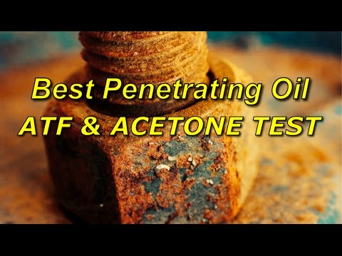Best Penetrating Oil Test for Rust, Spark Plugs - ATF & ACETONE - Kroil - Bundys Garage
