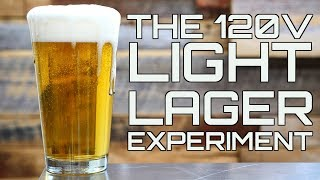 The 120v, Electric Brewing, Light Lager Experiment