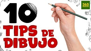 1O TRUCOS PARA APRENDER A DIBUJAR - 10 Life Hacks Para Dibujantes