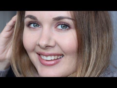 Легкий весенний макияж для серо-голубых глаз
