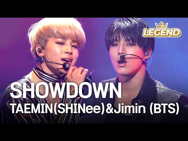 TAEMIN (SHINee) & Jimin (BTS) - SHOWDOWN [2016 KBS Song Festival / 2017.01.01]