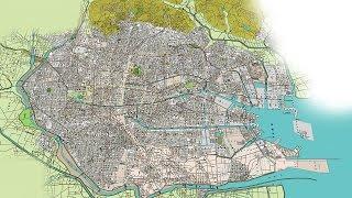 古地図で辿る名古屋400年No5 昭和30年代の名古屋[Network2010]
