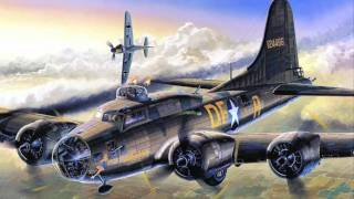 Aviation Art - B-17 Flying Fortress