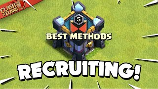 Recruit Better in 5 Steps (Clash of Clans)