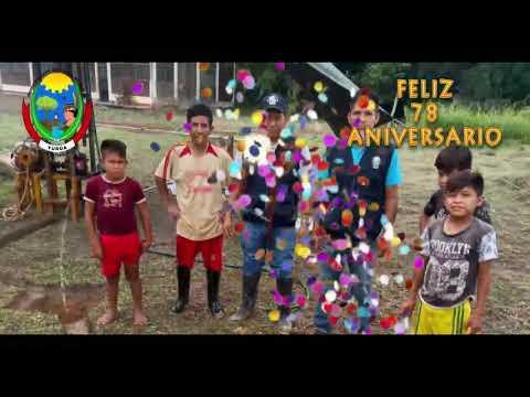 Feliz 78 Aniversario Distrito de Yurua