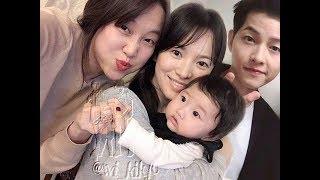 Mr Joong Ki 💓Mrs Hye Kyo 😍Waiting for Song Song's Junior- Bigboss and Baby Real Love