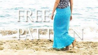 Crochet Maxi Skirt | Free Pattern