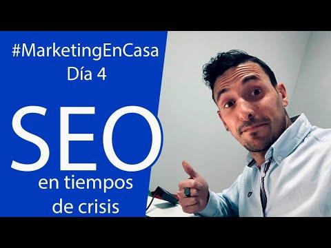 #MarketingEnCasa   SEO en tiempos de crisis con Jonathan Vélez