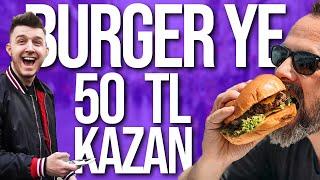 YE KAZAN | 30 SANİYEDE HAMBURGER YEDİ !! |