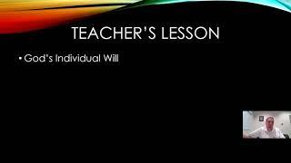 Lesson 32a--Dynamic Christian Living