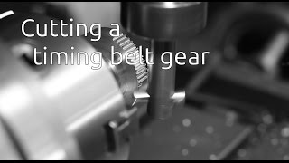 Cutting A Timing Belt Gear