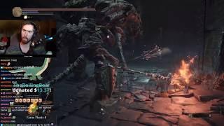 Asmongold's Fifth Stream of Dark Souls 3 | FULL VOD