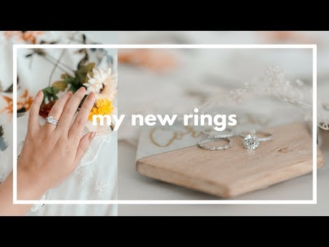 Unboxing my New Wedding Ring Set from Tiger Gems | Corinth Suarez