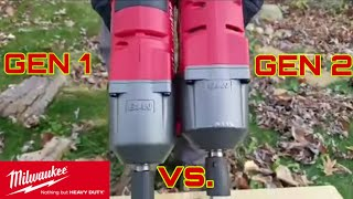 Milwaukee Fuel Gen 1 vs Milwaukee Fuel Gen 2 Impact Wrench Face Off