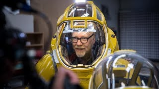 Adam Savage Explores the Science-Fiction Spacesuits of FBFX