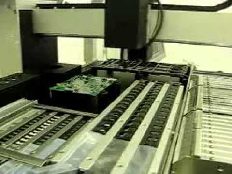 Mechatronics Automatic SMT pick & place machine with optical alignment system