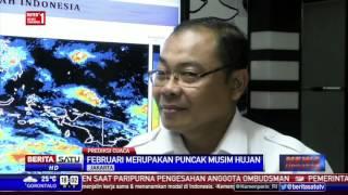 BMKG Pulau Jawa Dan Sekitarnya Diguyur Hujan Lebat