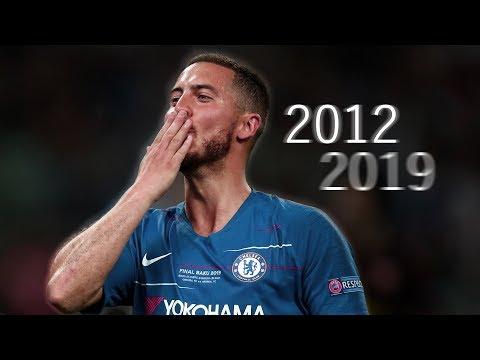 THANK YOU EDEN HAZARD 2012-2019   CHELSEA HD