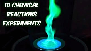 10 Amazing Chemical Reactions Complication