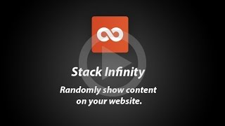 Stack Infinity - Add-on for Concrete5