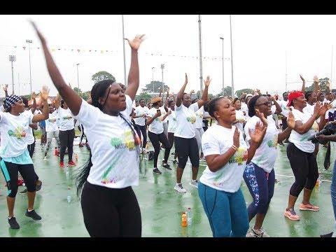 1ère édition de Abidjan Music Fitness, le reportage de OSE TV