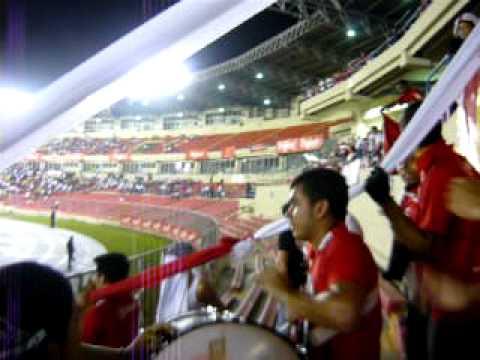 """Ultra Roja"" Barra: La Ultra Roja • Club: San Francisco • País: Panamá"