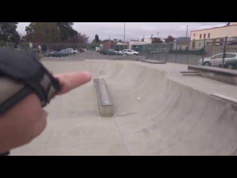 Tour of Santa Paula, CA Skatepark