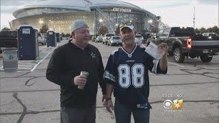Man Spreads Die Hard Cowboys Fan