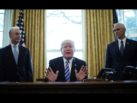 Following health care defeat, Trump pivots to tax reform