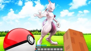 OVERPOWERED REALISTIC POKEMON GO BATTLE IN MINECRAFT - Pixelmon Mod