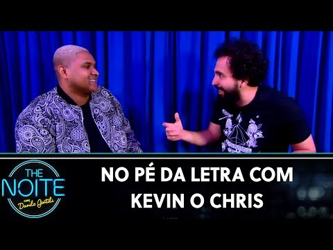 No pé da letra com Kevin o Chris | The Noite (20/09/19)