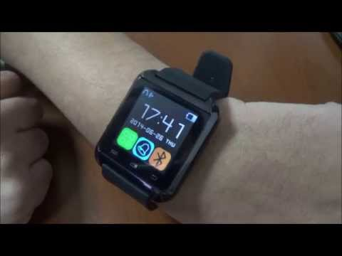 Smart Watch U8 Bluetooth, Reloj digital para celulares!