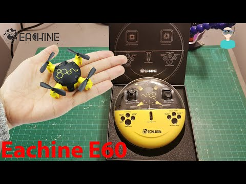 Eachine E60 Mini Pocket Drone Unboxing And Review