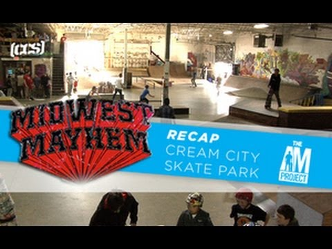 CCS' Midwest Mayhem At Wisconsin's Cream City Skatepark
