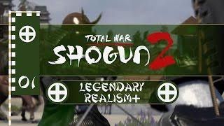 Let's Play Total War: Shogun 2 (Legendary/Realism+) - Shimazu - Ep.01 - A Rough Start!