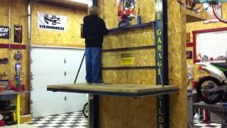 landmark garages elevator demo