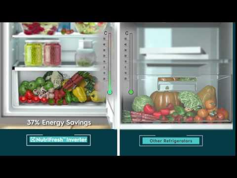 Electrolux-  Nutri fresh Inverter Fridge