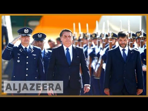 🇧🇷🇨🇱 Bolsonaro in Chile: Brazilian leader sparks controversy | Al Jazeera English