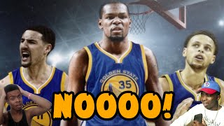 THE THUNDER FANS REACTION TO KEVIN DURANT JOINING THE GOLDEN STATE WARRIORS! - BRUH - FAN REACTION