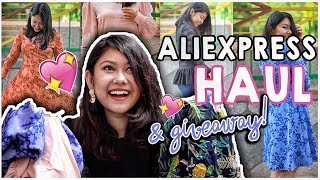 ✅ALIEXPRESS HAUL  SAFE OR NOT? Honest Indian Review+GIVEAWAY  ThatQuirkyMiss