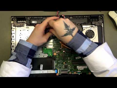 Разборка Acer E5 774G 367B / Disassembly Acer E5 774G 367B
