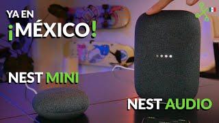 Nest Audio y Nest Mini en México: con Assistant y mejor sonido parapara animar el home office