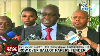 Ballot tender done deal — IEBC - VIDEO