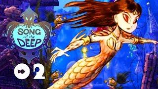 MERROW, A MERMAID!? | Song of the Deep - Walkthrough Part 2, Gameplay XBOX ONE