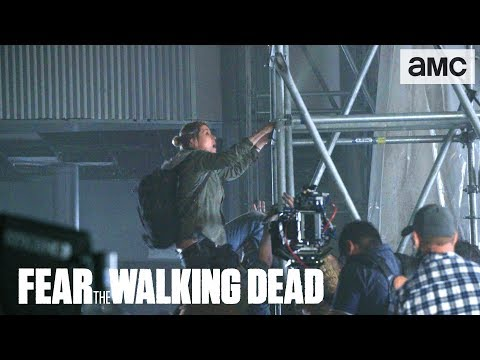 'Walker Zip Line' Behind the Scenes Ep. 406 | AMC 'Fear the Walking Dead' Thumbnail