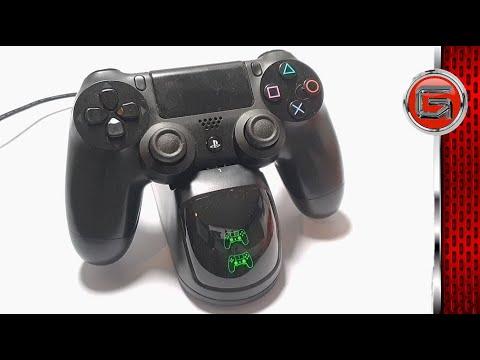 BEBONCOOL PS4 USB Dual Controller Charging Dock Review