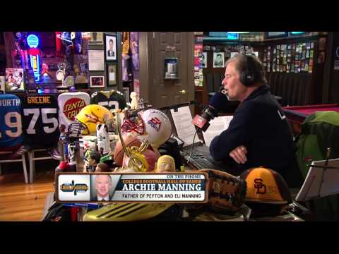 Archie Manning on the Dan Patrick Show (Full Interview) 11/5/14