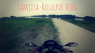 preview picture of video 'Sunday Vlog : Sunday আড্ডা | Samjiya-Rosulpur Vlog | tridibiker'